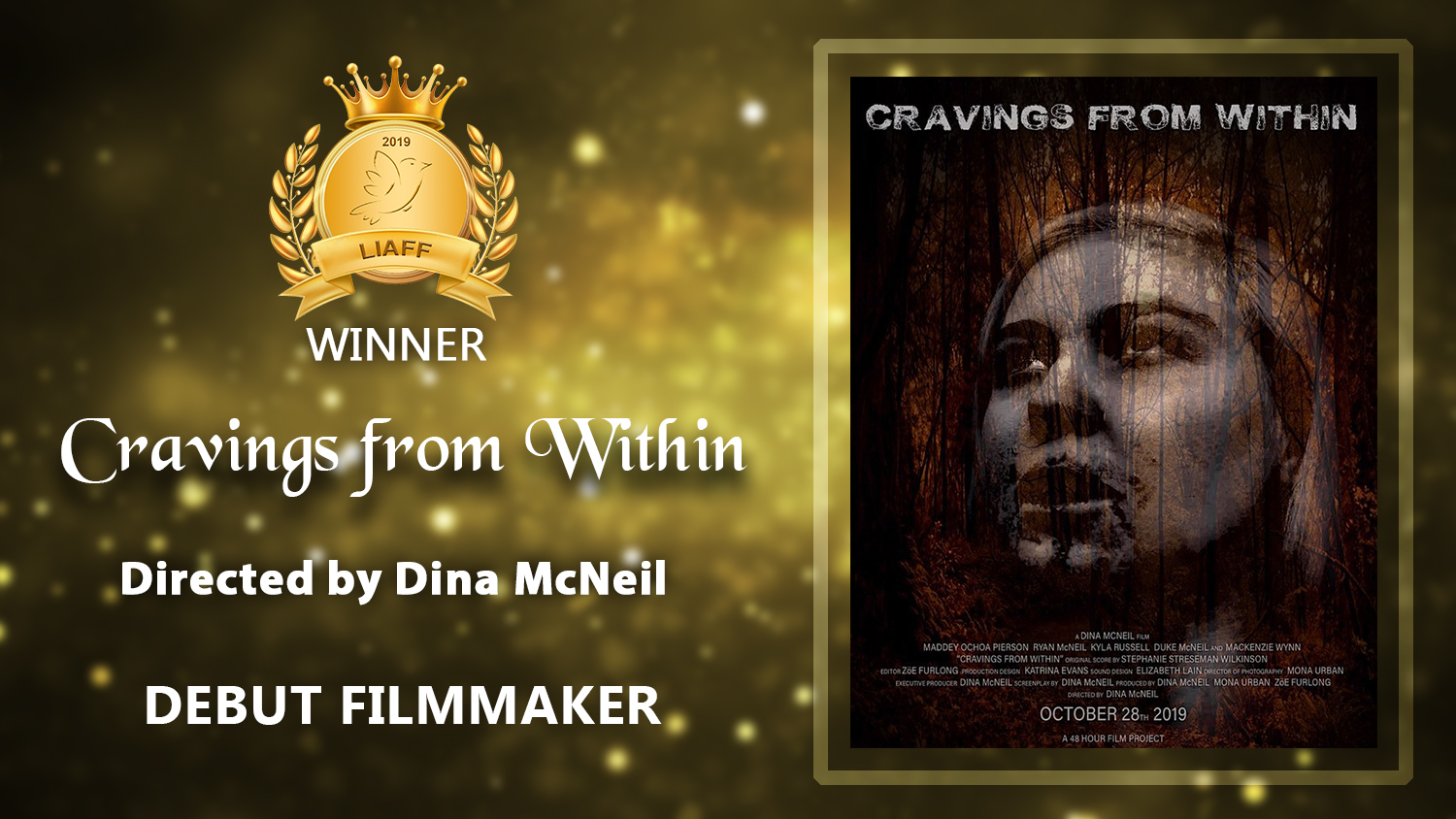 Cravings from Within_Debut Filmmaker