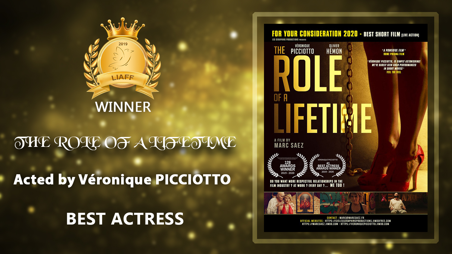THE ROLE OF A LIFETIME_Actress